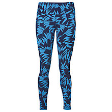 Buy Asics GPX 7/8 Running Tights, Blue/Black Online at johnlewis.com