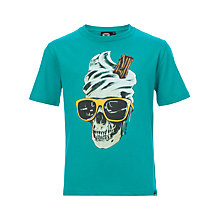 Buy Animal Boys' Rippin Short Sleeve T-Shirt, Green Online at johnlewis.com