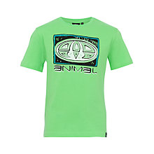 Buy Animal Boys' Kickflip T-Shirt, Summer Green Online at johnlewis.com