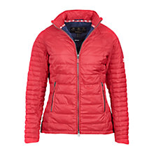 Buy Barbour Chock Quilted Jacket, Red Online at johnlewis.com
