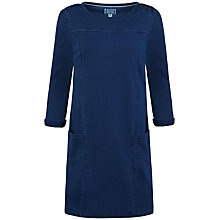 Buy Seasalt Druse Denim Dress, Indigo Dye Online at johnlewis.com