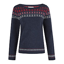 Buy Seasalt Balleswidden Jumper, Ombre Anchor Fathom Online at johnlewis.com