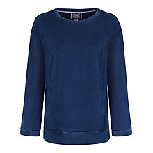 Buy Seasalt Mining Denim Top, Indigo Dye Online at johnlewis.com