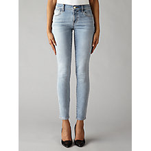 Buy J Brand Mid Rise Skinny Jeans, Deserted Online at johnlewis.com