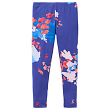 Buy Little Joule Girls' Deedee Floral Print Leggings, Blue/Multi Online at johnlewis.com