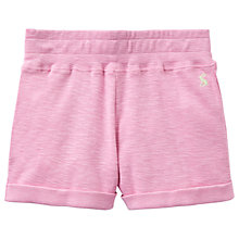 Buy Little Joule Girls' Kittiwake Jersey Shorts, Pale Pink Online at johnlewis.com