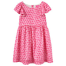 Buy Little Joule Girls' Party Geometric Dress, Pink Online at johnlewis.com