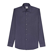 Buy Reiss Roberto Pin Dot Regular Fit Shirt, Navy Online at johnlewis.com