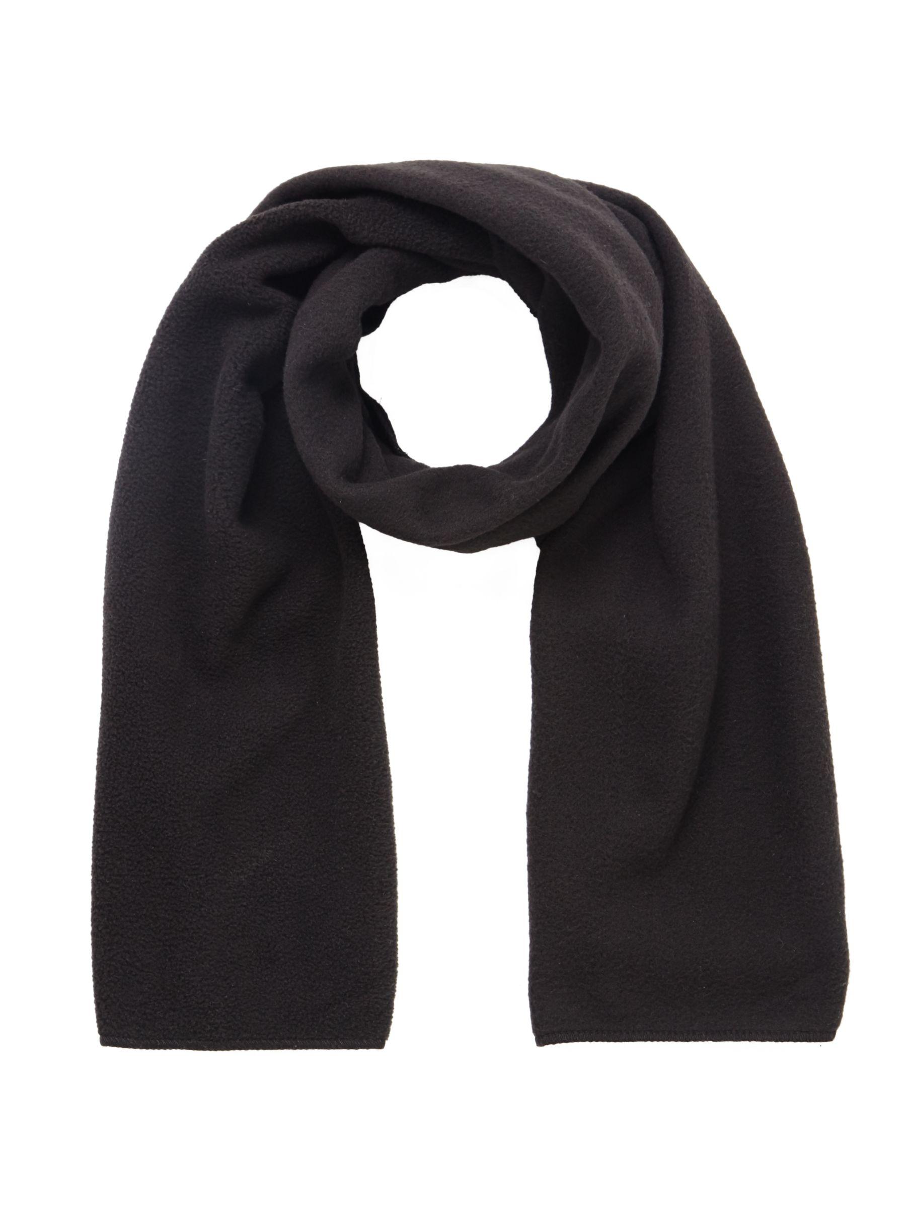Unbranded School Fleece Scarf, One Size, Black
