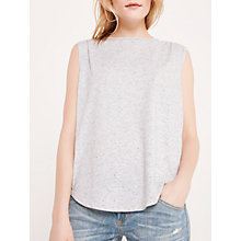 Buy AND/OR Fleck Muscle Top, Silver Grey Online at johnlewis.com