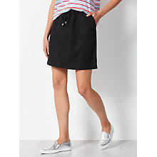 Buy Collection WEEKEND by John Lewis Draw Waist Skirt, Black Online at johnlewis.com
