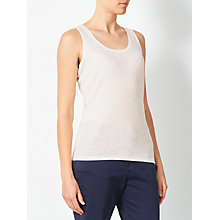 Buy John Lewis Linen Jersey Vest Online at johnlewis.com