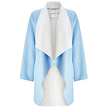 Buy Windsmoor Double Faced Coat, Light Blue Online at johnlewis.com