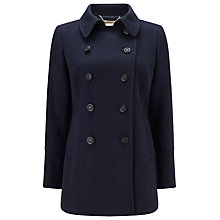 Buy Windsmoor Wool Blend Military Coat, Navy Online at johnlewis.com