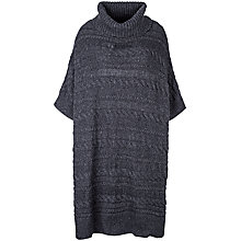 Buy Fat Face Cable Poncho Online at johnlewis.com