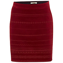 Buy White Stuff East to West Embroidered Skirt, Poppy Red Online at johnlewis.com