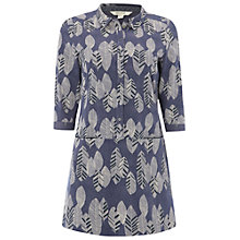 Buy White Stuff Sycamore Print Jersey Tunic Top, Mount Blue Online at johnlewis.com