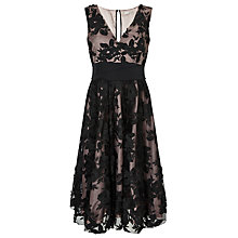 Buy Jacques Vert Applique Prom Dress, Multi/Black Online at johnlewis.com