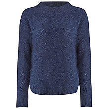 Buy White Stuff Curly Thai Jumper, Navy Online at johnlewis.com