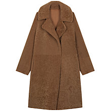 Buy Gerard Darel Rivage Faux Fur Coat Online at johnlewis.com