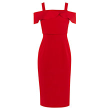 Buy Coast Hortense Shift Dress, Red Online at johnlewis.com
