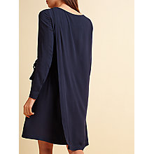 Buy Modern Rarity Double Layer Dress, Navy Online at johnlewis.com