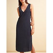 Buy Modern Rarity Side Split Cami Dress, Navy Online at johnlewis.com