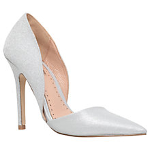 Buy Miss KG Andi 2 Asymmetric Cut Away Court Shoes, Silver Online at johnlewis.com
