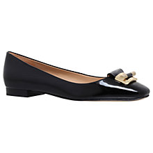 Buy MICHAEL Michael Kors Gloria Ballet Pumps, Black Online at johnlewis.com