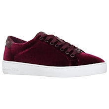 Buy MICHAEL Michael Kors Irving Lace Up Trainers Online at johnlewis.com
