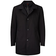 Buy HUGO by Hugo Boss Barelto Fabric Blend 2 in 1 Coat, Black Online at johnlewis.com