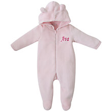 Buy My 1st Years Baby Personalised Fleece Onesie Online at johnlewis.com