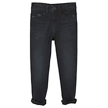 Buy Mango Kids Boys' Skinny Jeans, Dark Blue Denim Online at johnlewis.com