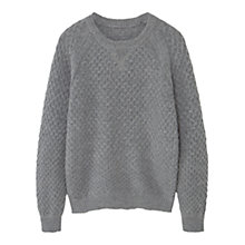 Buy Mango Kids Boys' Wool Rich Jumper Online at johnlewis.com