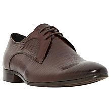 Buy Dune Raptor Emboss Point Derby Shoes Online at johnlewis.com