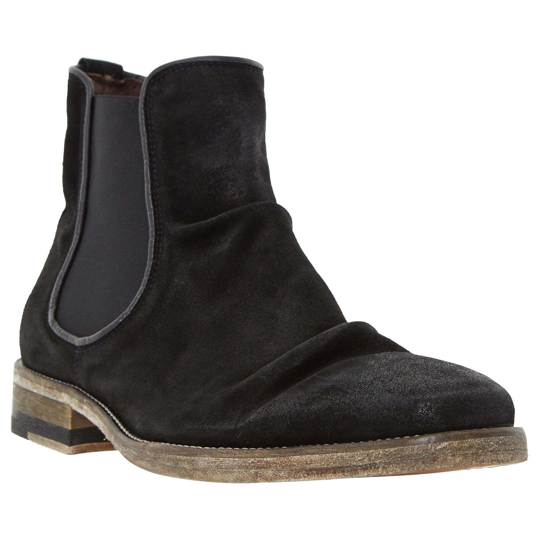 Bertie Bertie Chingy Washed Suede Chelsea Boots
