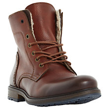Buy Dune Chichester Double Collar Lined Boots Online at johnlewis.com