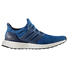 Buy Adidas Ultra Boost Men's Running Shoes, Blue/Black Online at johnlewis.com