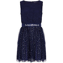 Buy Yumi Girl Lace Sparkle Prom Dress Online at johnlewis.com
