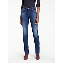 Buy Lee Marion Regular Straight Leg Jeans, Night Sky Online at johnlewis.com