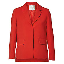 Buy Selected Femme Minty Blazer, Flame Scarlett Online at johnlewis.com