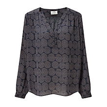 Buy Pyrus Florence Silk Blouse, Sparkle Dot Online at johnlewis.com