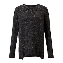 Buy Velvet Keri Jumper, Charcoal Online at johnlewis.com