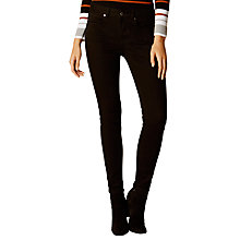 Buy Karen Millen Clean Jeans, Black Online at johnlewis.com