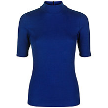 Buy Jaeger Ribbed Jersey T-Shirt Online at johnlewis.com