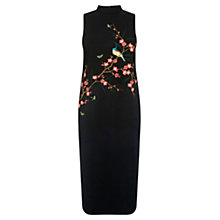 Buy Oasis Osaka Embroidered Dress, Multi Online at johnlewis.com
