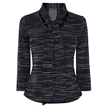 Buy Karen Millen Feminine Blouse Top, Navy Online at johnlewis.com