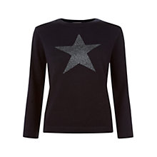 Buy Hobbs Astrology Jumper, Midnight Online at johnlewis.com