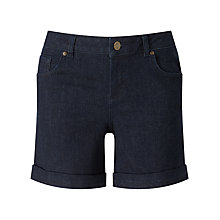 Buy Phase Eight Thea Denim Shorts, Indigo Online at johnlewis.com