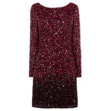 Buy Coast Lydie Sequin Dress, Merlot Online at johnlewis.com
